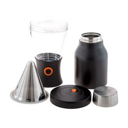 Asobu - Cold Brew Insulated Portable Brewer - Czarny